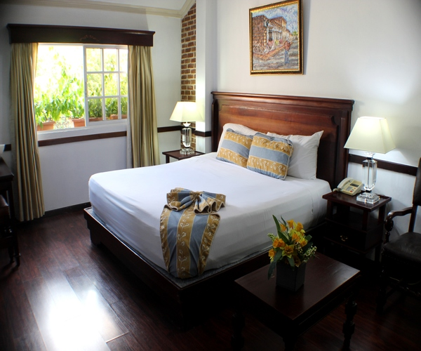 Deluxe Room located in Santiago,Dominican Republic at the Platino Hotel & Casino