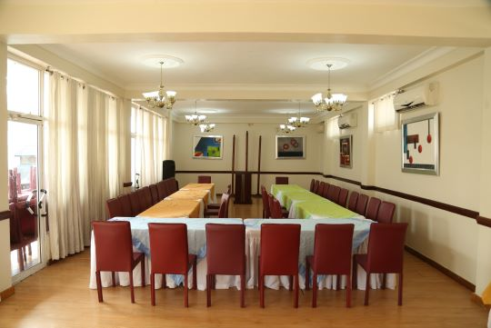 Events and conference room at the Platino Hotel & Casino in Santiago.