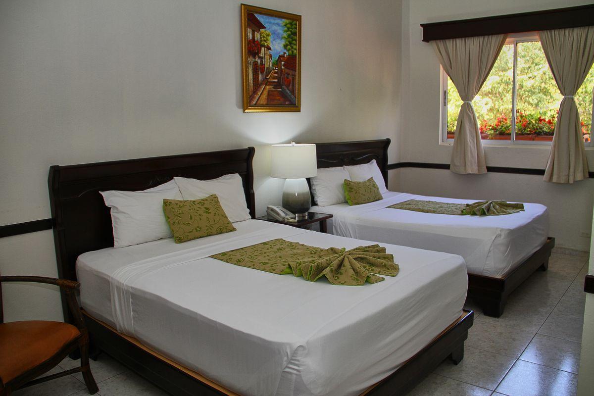 Junior Suite at the Platino Hotel & Casino located in Santiago Dominican Republic
