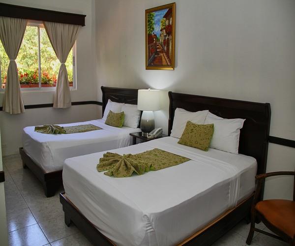 Junior Suite Room located in Santiago, Dominican Republic at the Platino Hotel & Casino